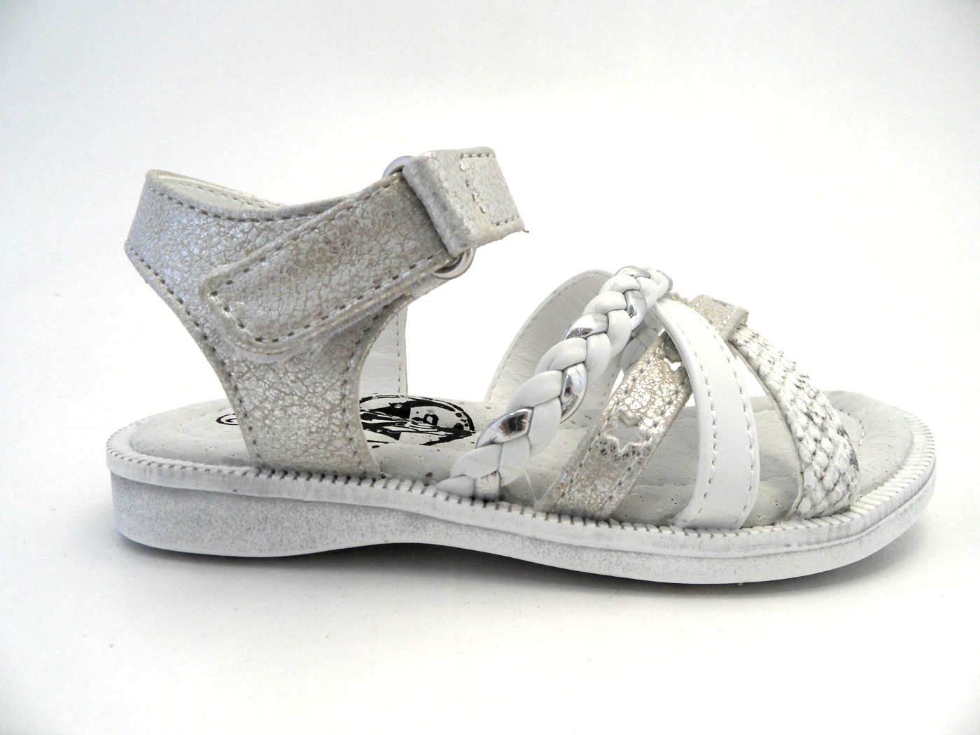 XtiKids Sandal Vit/Silver