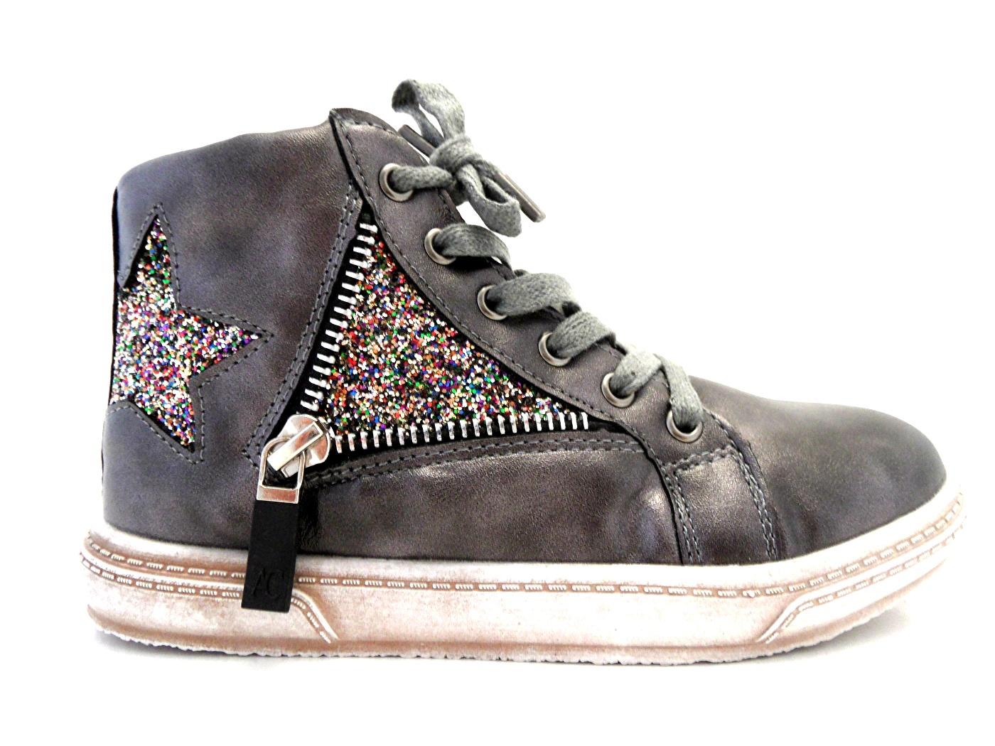 Wildflower Kennedia Anthracite Sneaker
