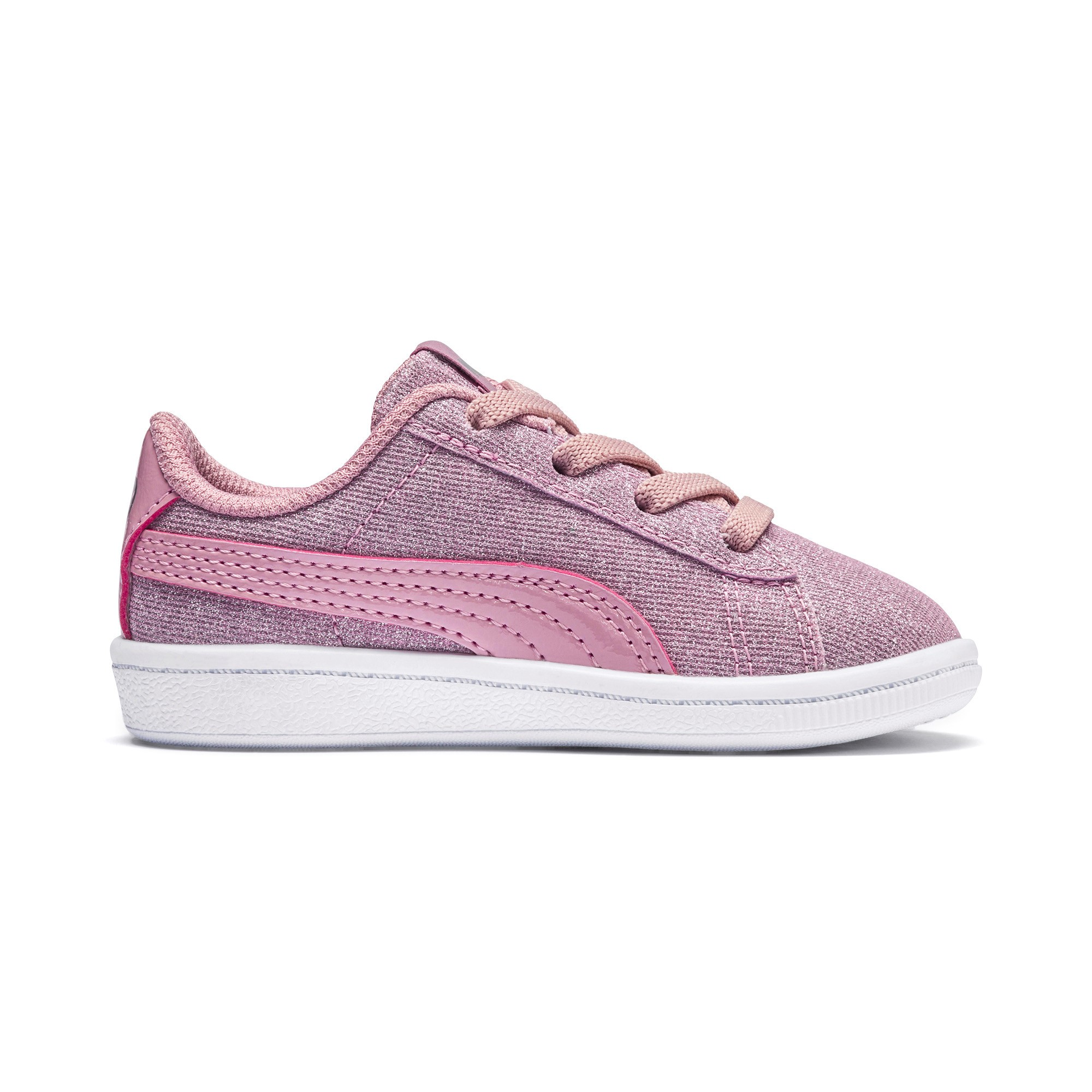 Puma Vikky Glitz Ac Inf Sneaker Pale Pink