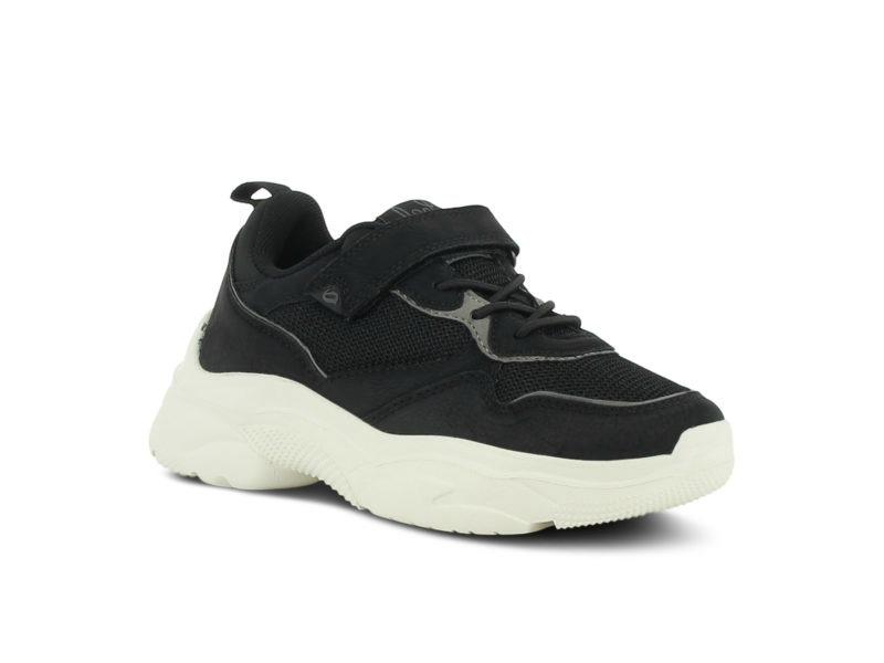 Leaf Tuna Sneaker Svart