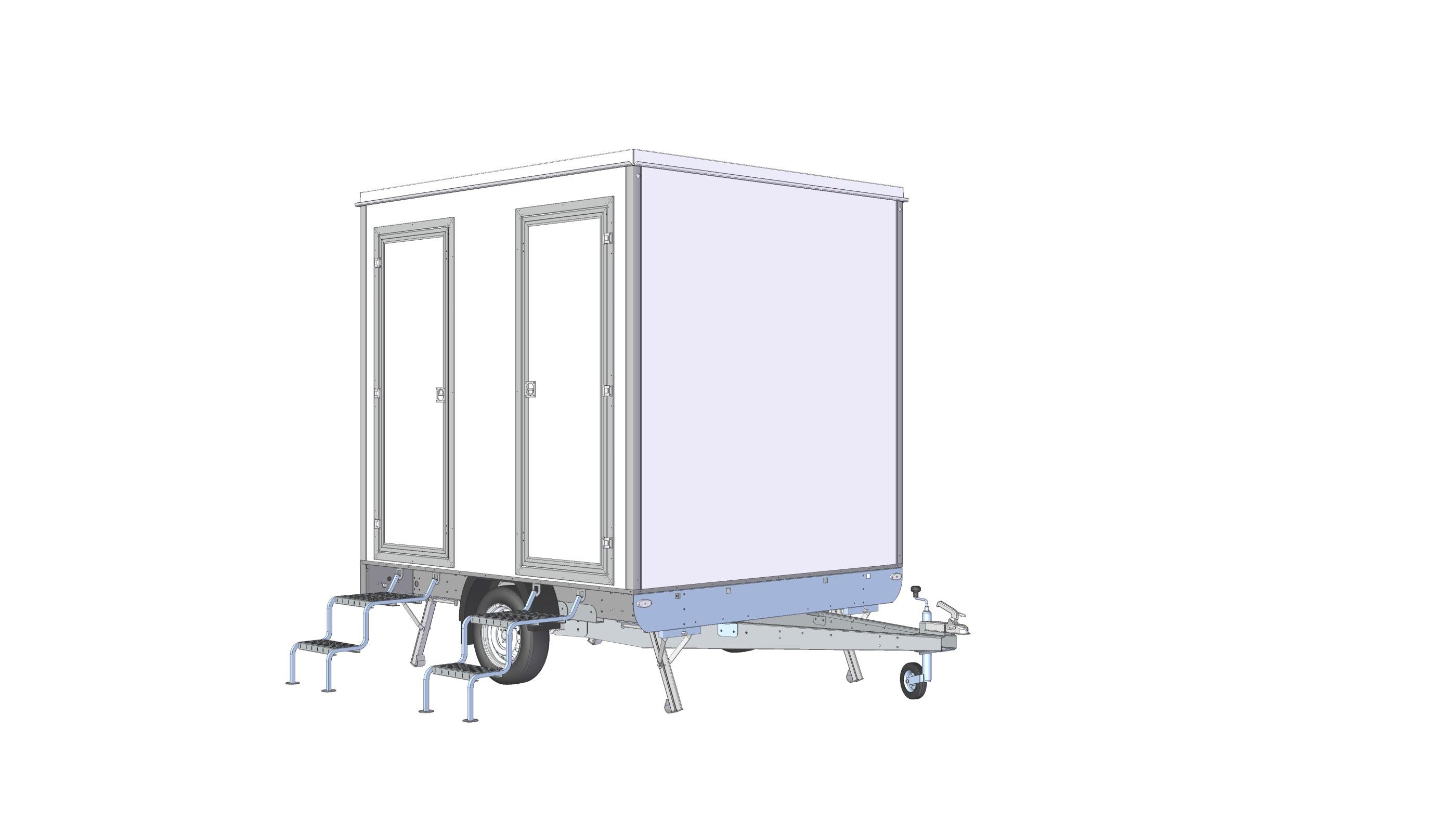 Toalettvagn 2P-SLAM
