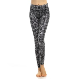 Traneving Tights Print Grey - Traneving Tights Print Grey S