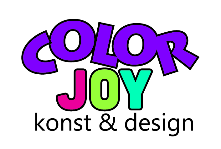 Color Joy_outline svart
