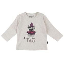 Långärmad T-shirt, Fixoni - Långärmad lila strl. 92