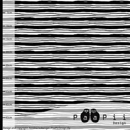 Paapiis svartvita lines -