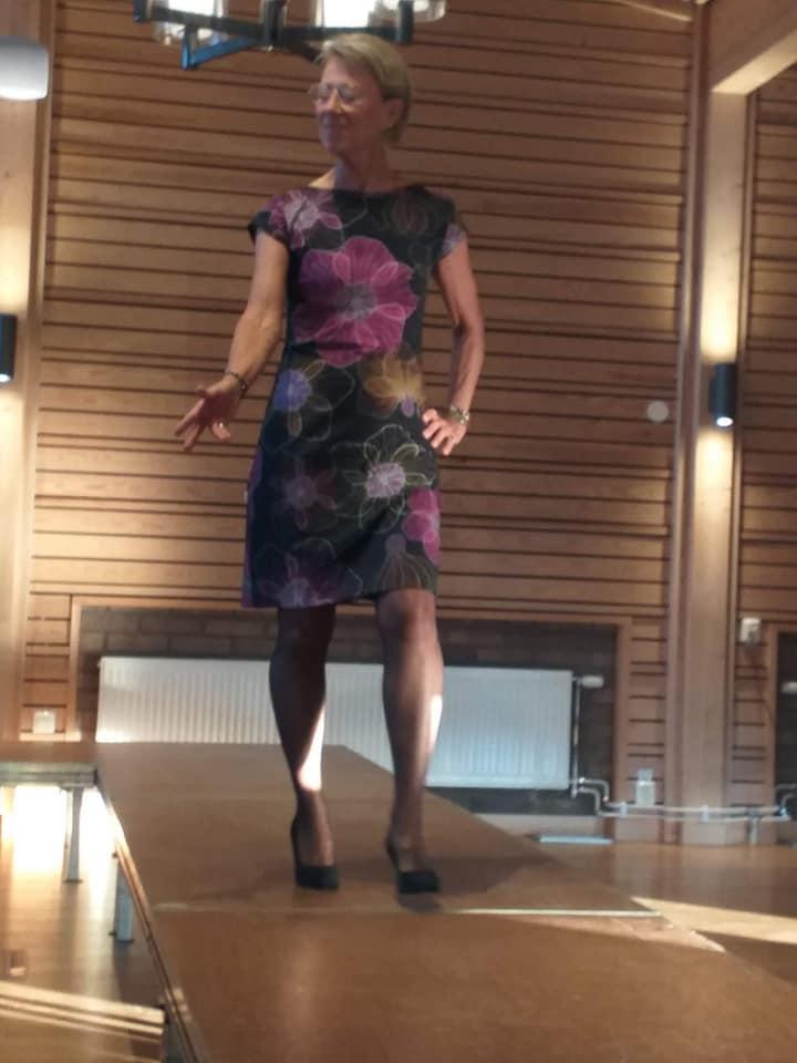 Figursydd klänning Sensuella