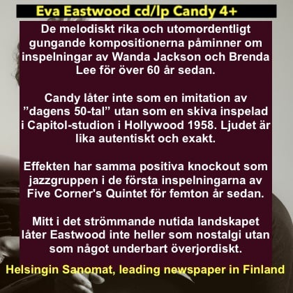 Recension Candy i Finland 2021