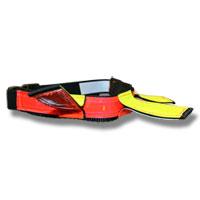 Halsband reflex Neon Line Hunter 2 Way neonröd/gul