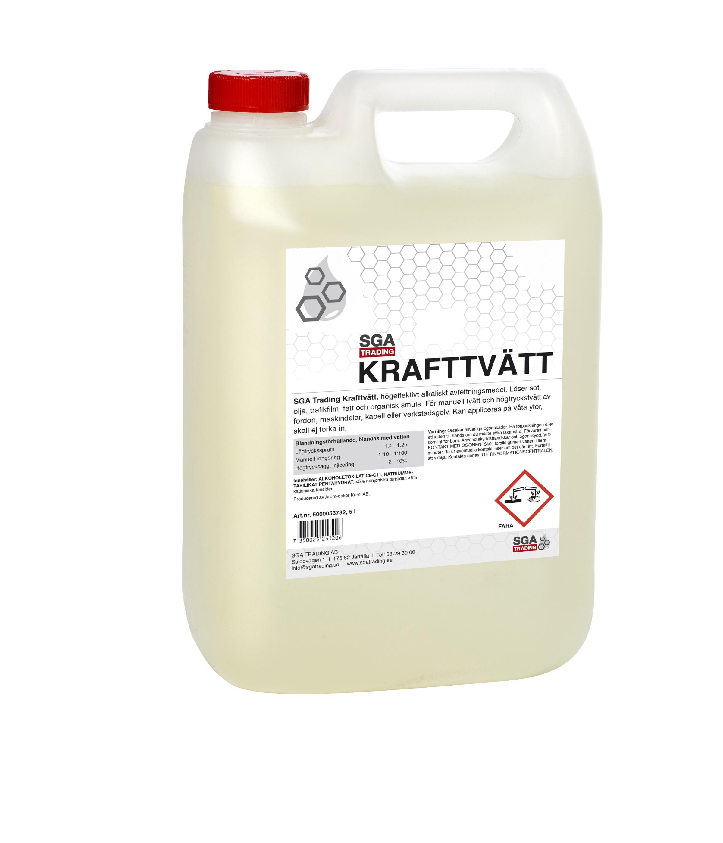 Krafttvätt 5 liter