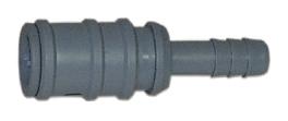 Snabbkoppling Plast 10 mm -