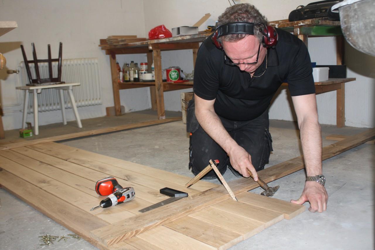 Inredning trall till balkong : Balkongrenovering