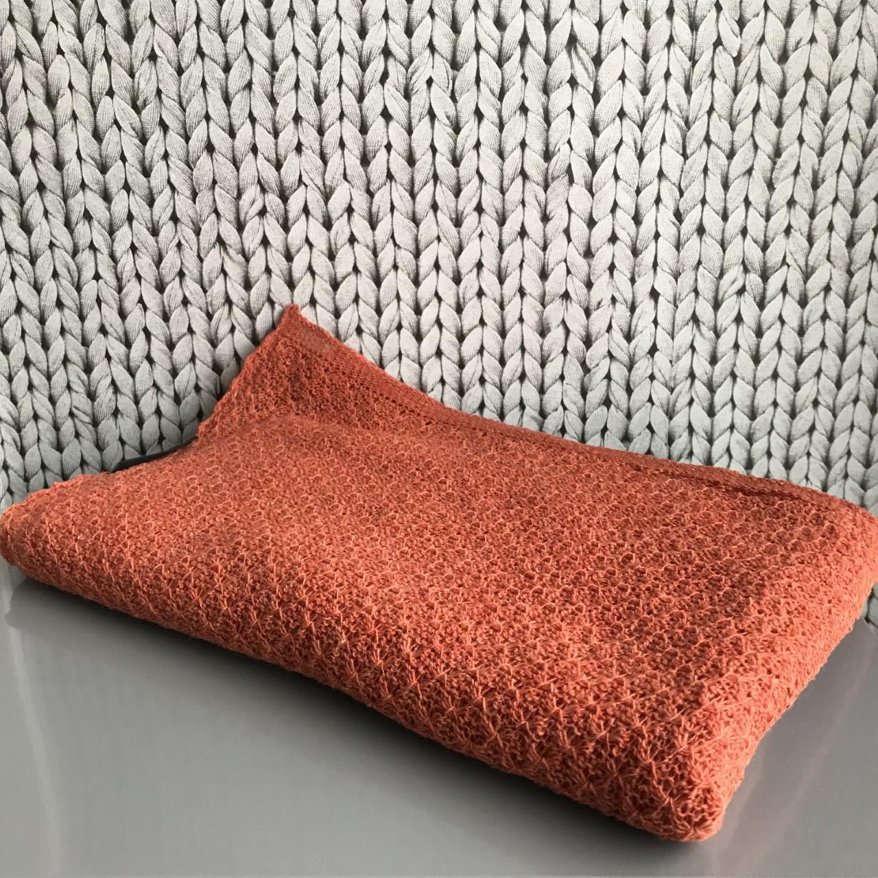 orange sjal 66
