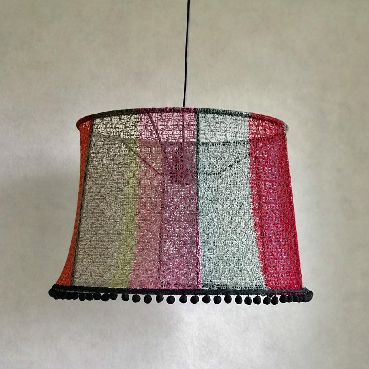 Multifärg taklampa
