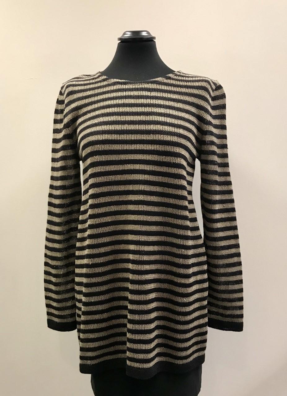 Beige/svart tröja