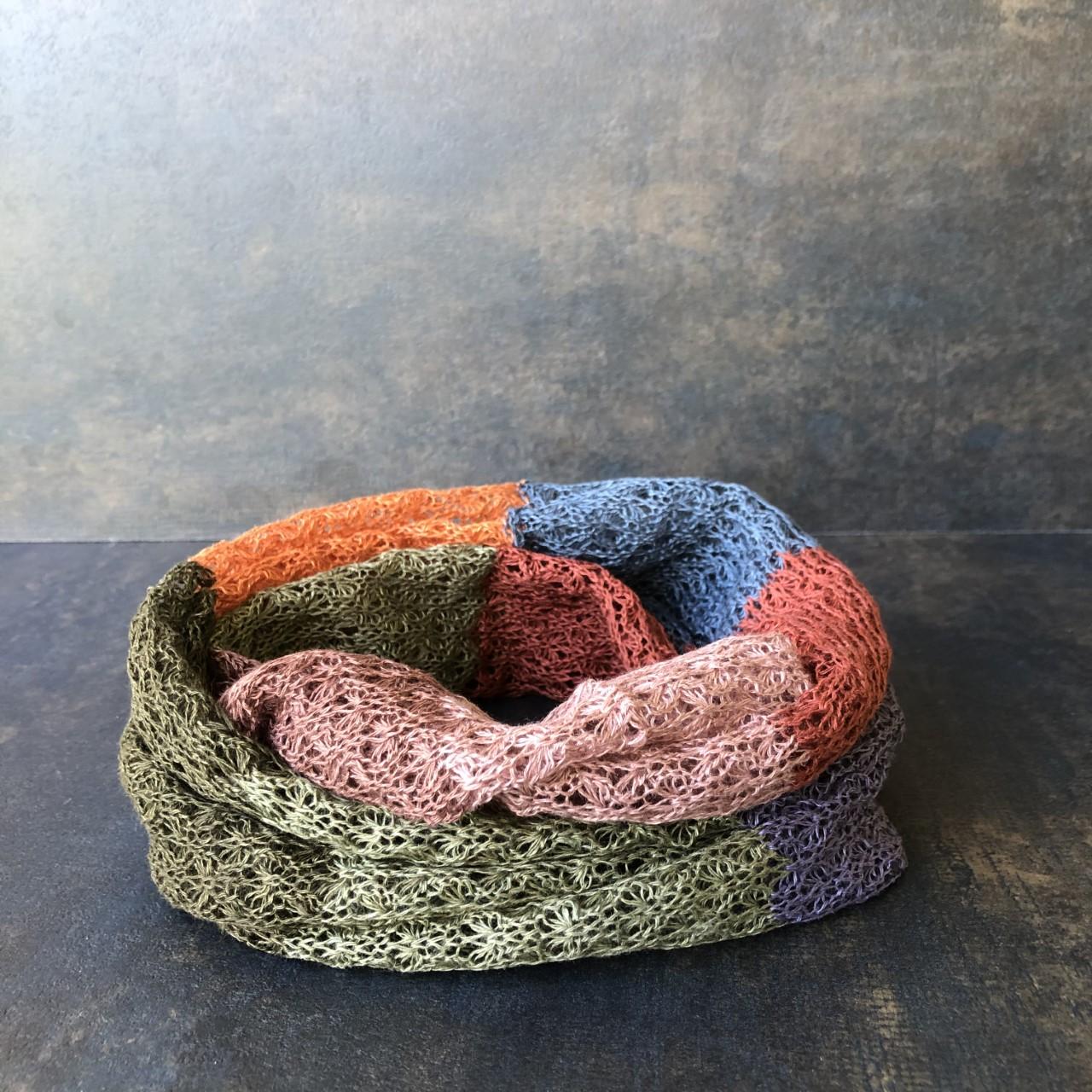 Multi rost/brun/grön
