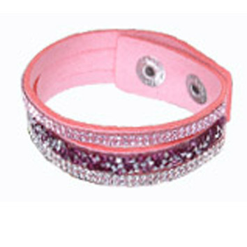 Blandade stenar rosa enkel - Blandade stenar korta 160041