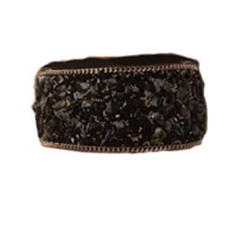 Bred med blandade stenar svart - Bred med blandade stena svart