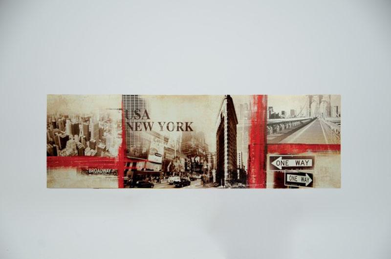 New York tavla East bakgrund