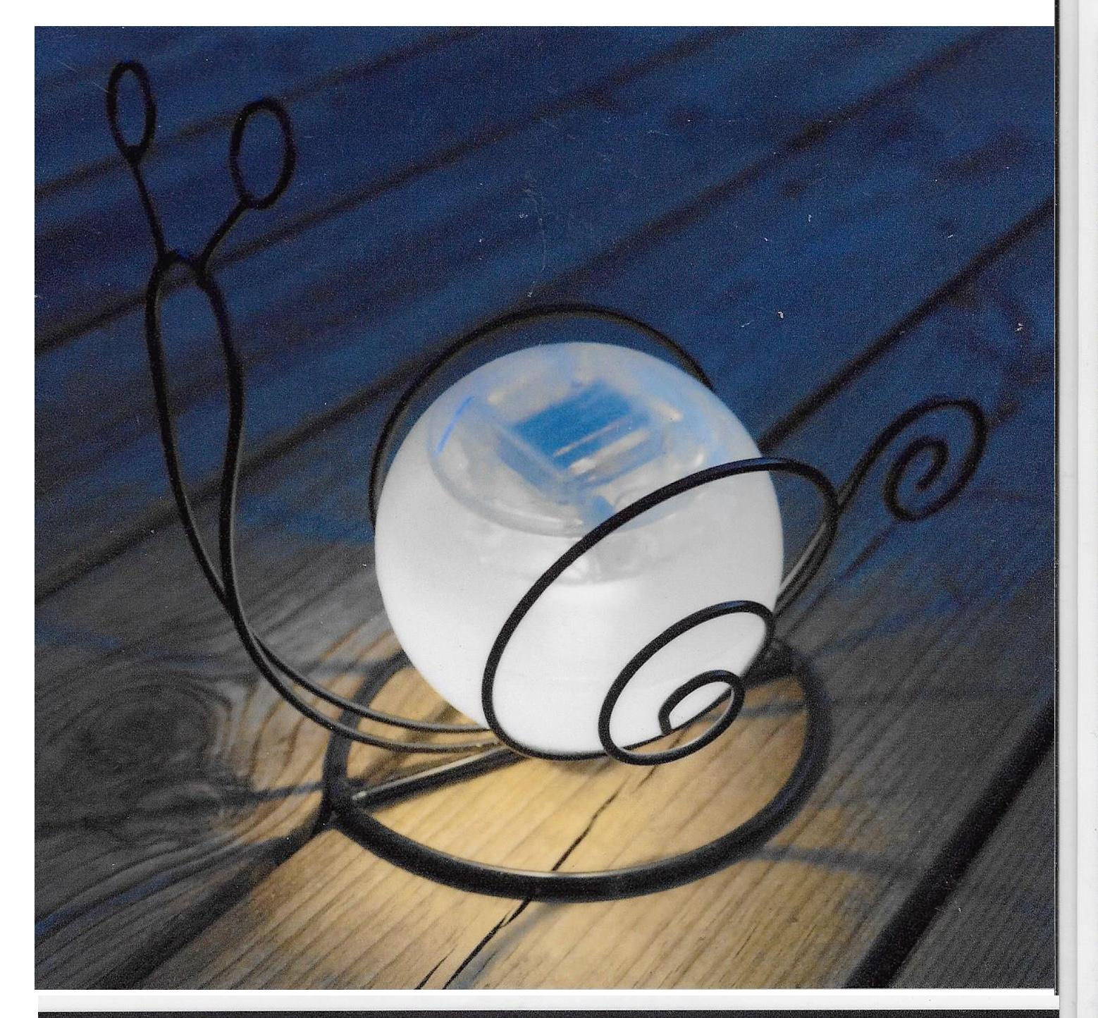 Snigel Solcellslampor i mörker