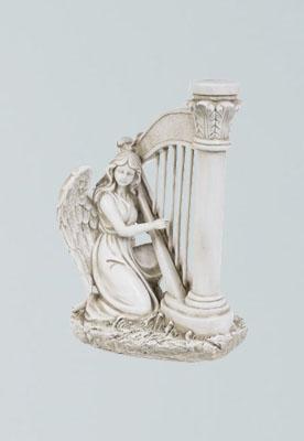 Ängel spelande harpa -