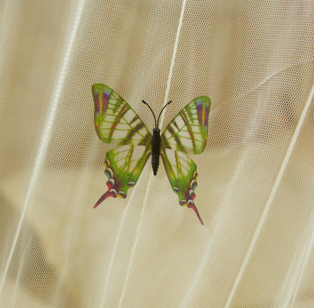 Myggnät 2 fjäril rev