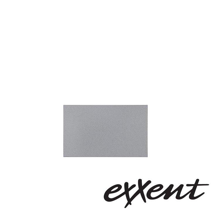 Kylplatta GN 1/4 i aluminium. silverfärgad
