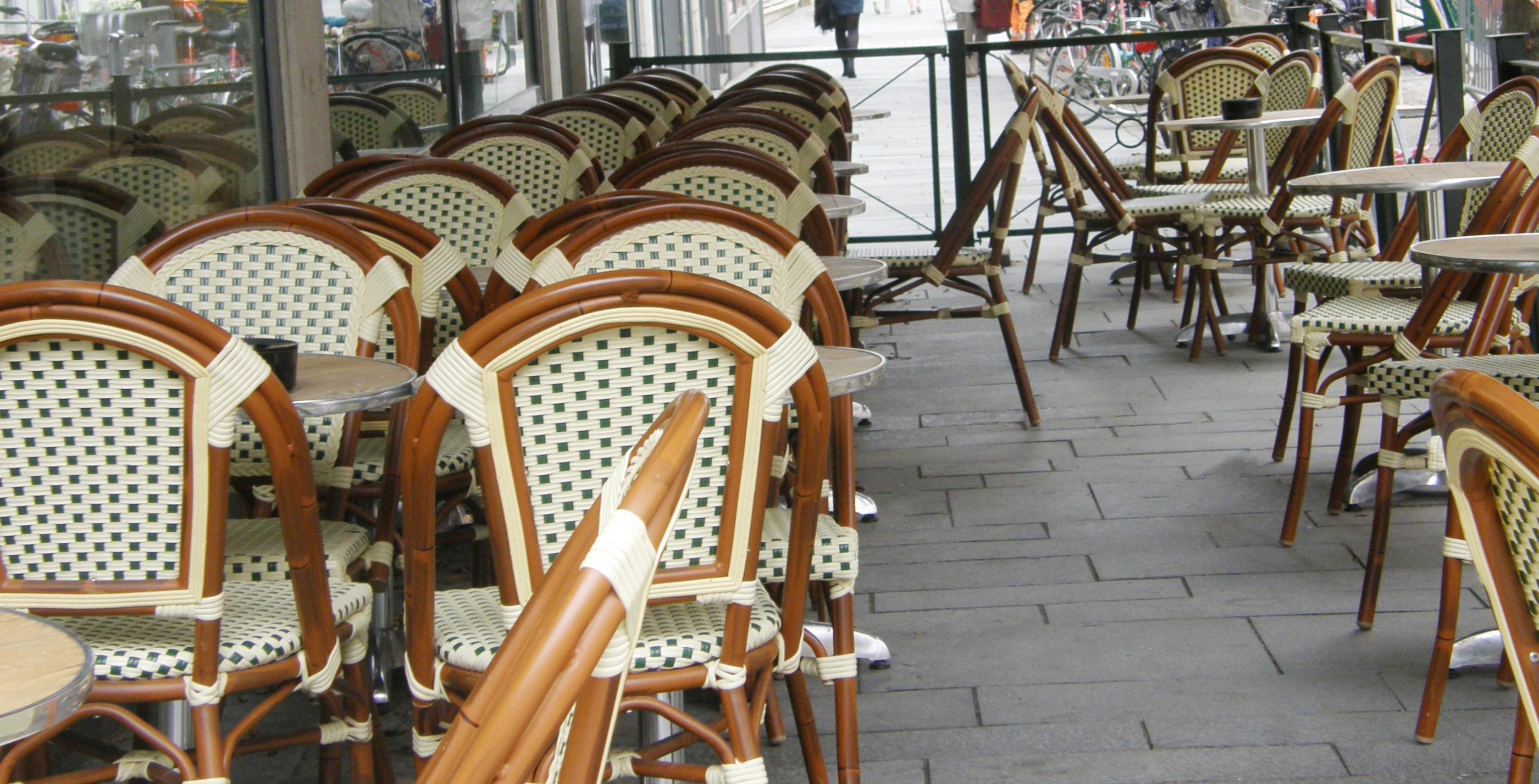 Paris stol, grön/ creme