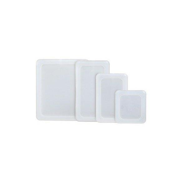 Tätslutande kantinlock i PE-plast
