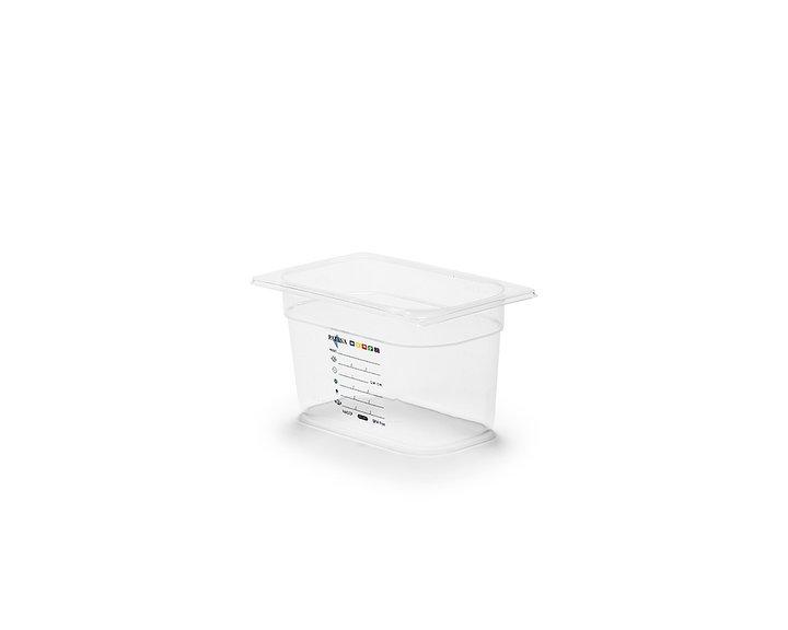 Plastkantin, bisfenolfri, GN 1/4-150 mm