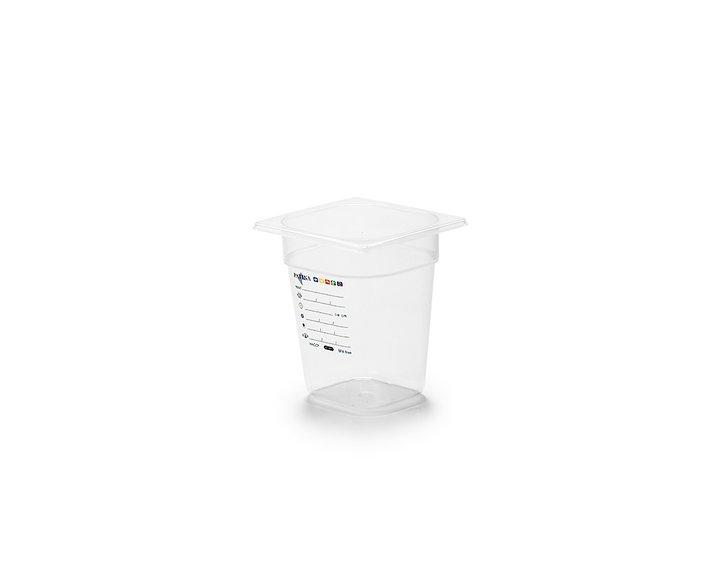 Plastkantin, bisfenolfri, GN 1/6-200 mm
