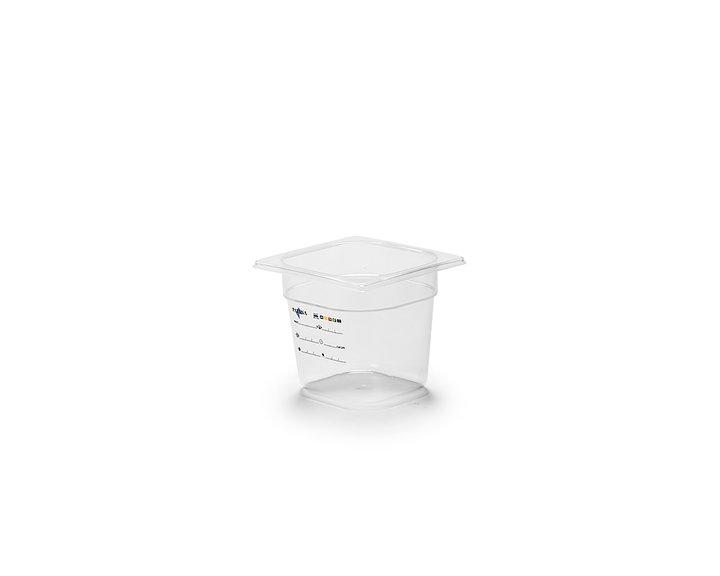 Plastkantin, bisfenolfri, GN 1/6-150 mm