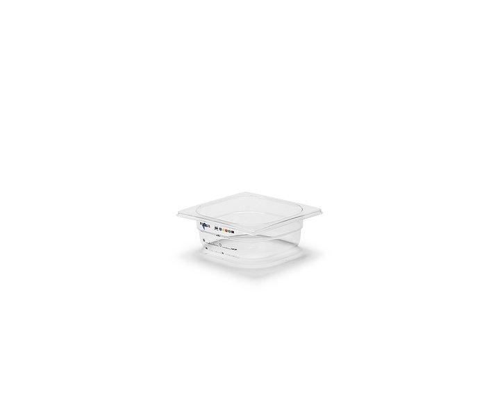 Plastkantin, bisfenolfri, GN 1/6-65 mm