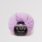 Baby Merino - BABY MERINO Kvalitet100% Merinoull extra fine, superwash Stickor + masktäthetSt 3, 28m