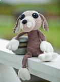 Virkmönster - virkmönster hund