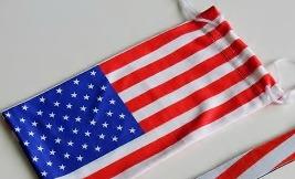 Mjukt fodral i microfiber flag