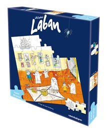 Lilla spöket Laban pussel, 36-bitar