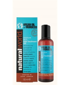 Argan Oil Of Morocco Moisture Rich Hair Treatment Oil - Argan Oil Of Morocco Moisture Rich Hair Treatment Oil