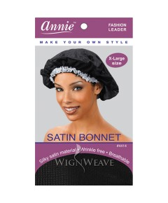 Annie Breathable Satin Bonnet - Annie satin Bonnet Breathable Satin Bonnet