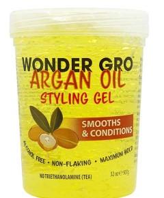 Wonder Gro Argan Oil Styling Gel - Wonder Gro Argan Oil Styling Gel