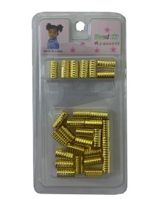 Metal Guld hårringar - Metal Guld hårringar