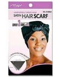 Magic Collection Satin Hair scarf -