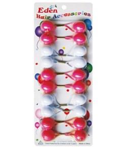 Färgglada tofsar med pärlor - FärggladaTofsar
