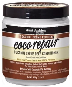 Aunt Jackie Coco Repair Coconut Creme Deep Conditioner - Aunt Jackie Coco Repair Coconut Creme Deep Conditioner