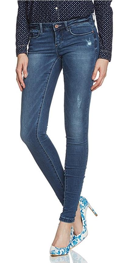 mörka jeans