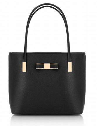 svart stor handväska