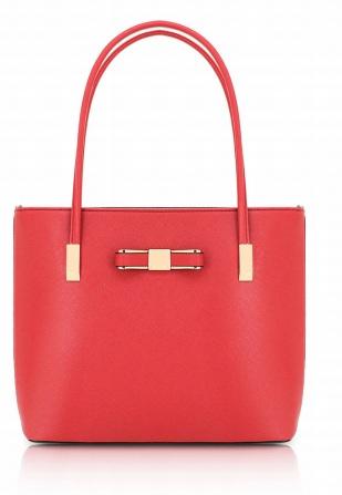 coral stor handväska
