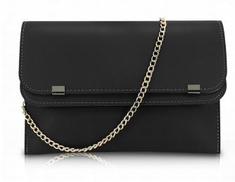 svart liten handväska