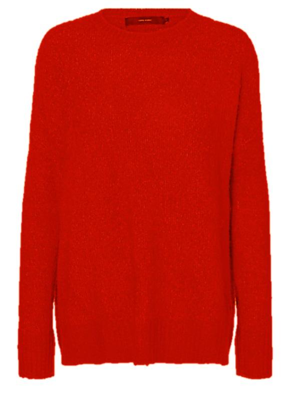 tröja röd