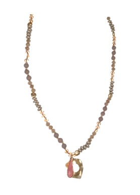 rosa halsband