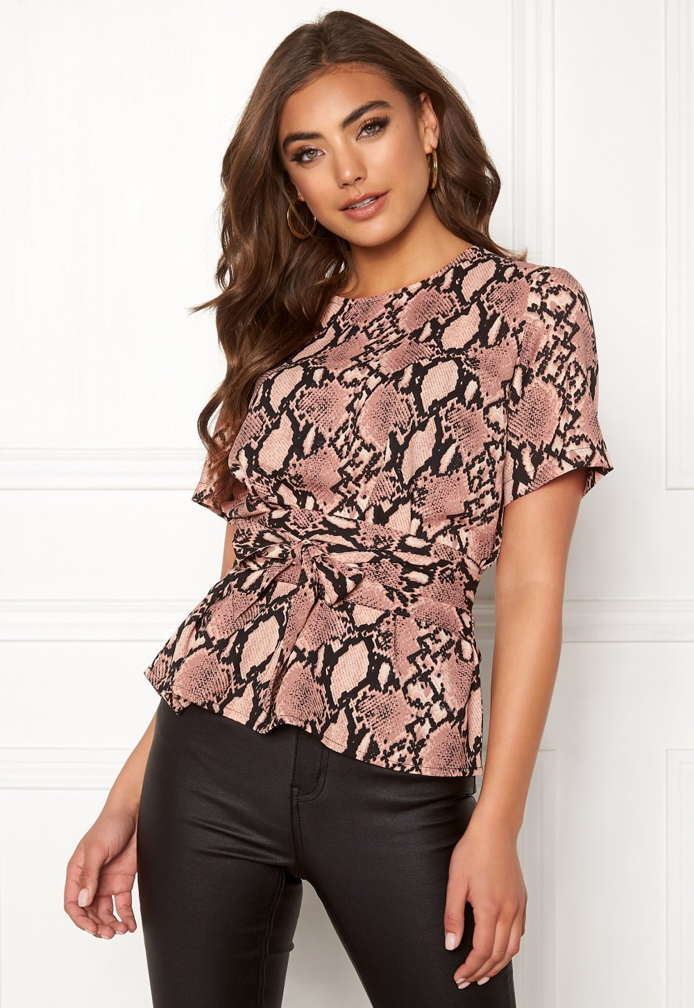 bubbleroom-maddie-tie-blouse-patterned